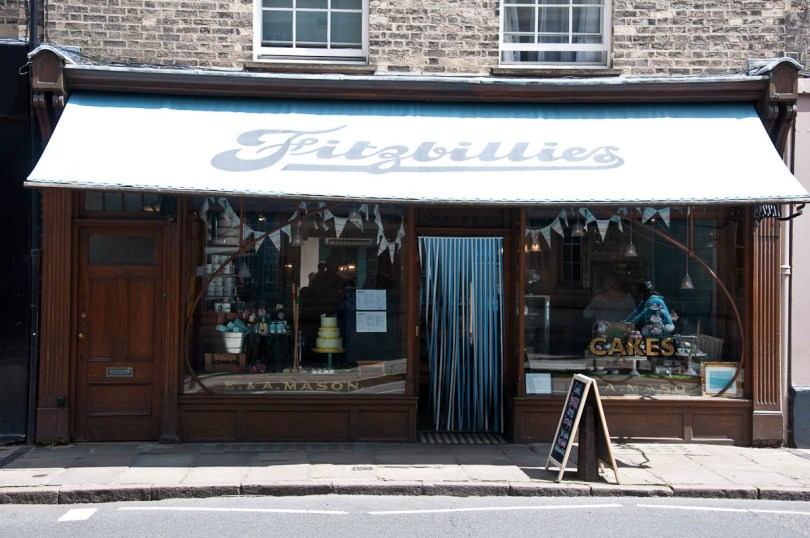 Fitzbillies cake shop, Cambridge, England - www.rossiwrites.com