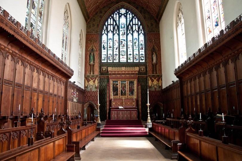 The Chapel. Queen's College, Cambridge, England - www.rossiwrites.com