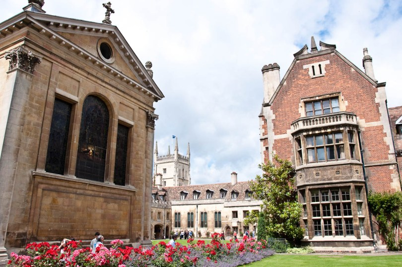 The chapel, Pembroke College, Cambridge, England - www.rossiwrites.com