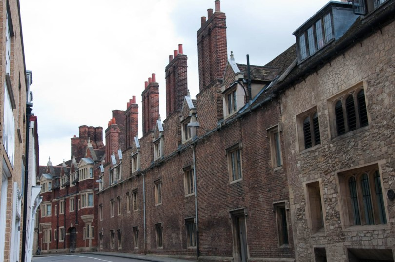 The chimneys of Cambridge, England - www.rossiwrites.com