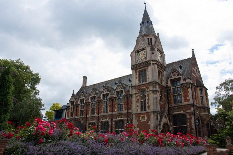 The library, Pembroke College, Cambridge, England - www.rossiwrites.com