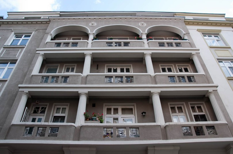 A renovated mansion in the centre of the capital, Sofia, Bulgaria - www.rossiwrites.com
