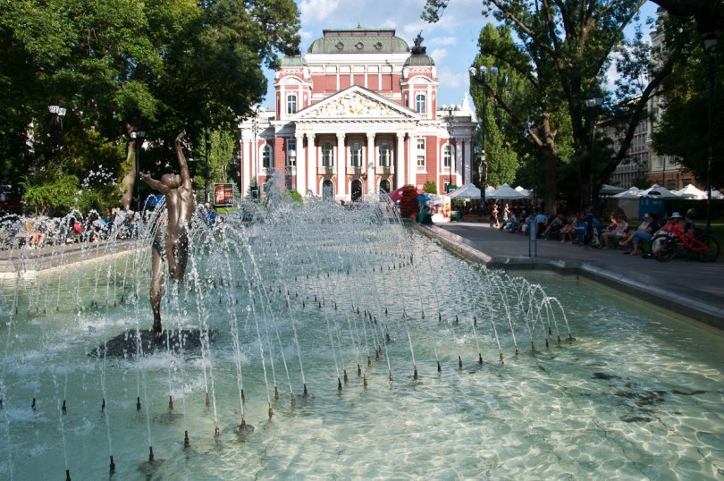 National theatre, Sofia, Bulgaria - www.rossiwrites.com