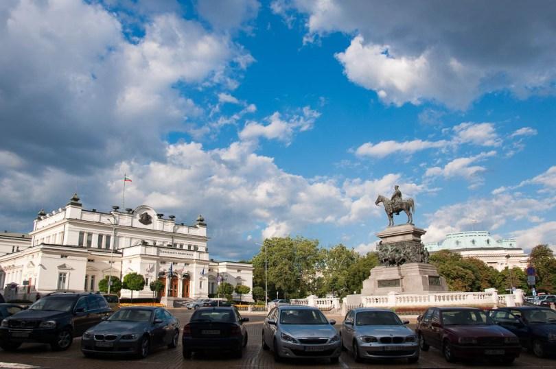 The Parliament, Tsar Liberatoronument and Sofia University, Sofia, Bulgaria - www.rossiwrites.com