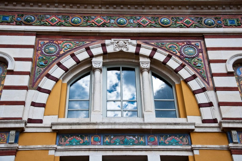 The facade of the Museum of History of Sofia, Sofia, Bulgaria - www.rossiwrites.com