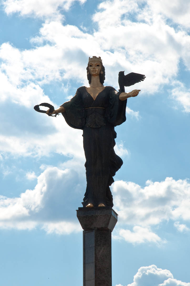 The monument of St. Sofia, Sofia, Bulgaria - www.rossiwrites.com