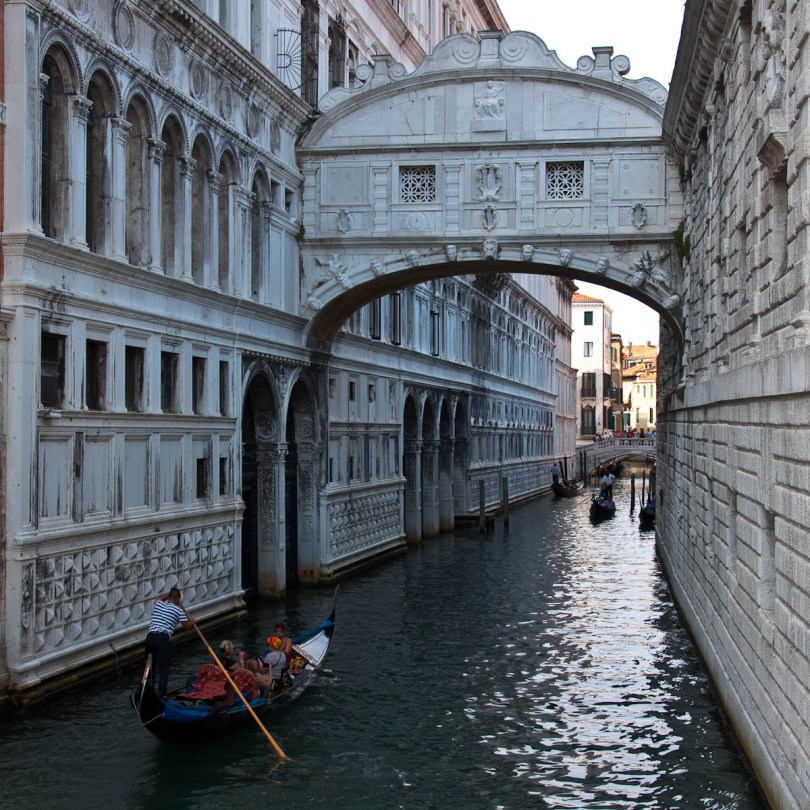 The Bridge of Sighs, Doges' Palace - Venice, Italy - rossiwrites.com