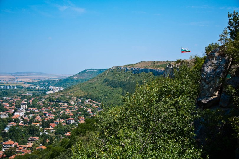The town of Provadia seen from the Ovech Fortress, Provadia, Bulgaria - www.rossiwrites.com