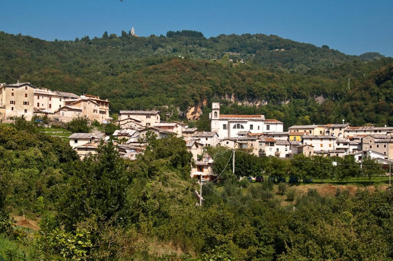 The village of Molina, Province of Verona, Italy - www.rossiwrites.com