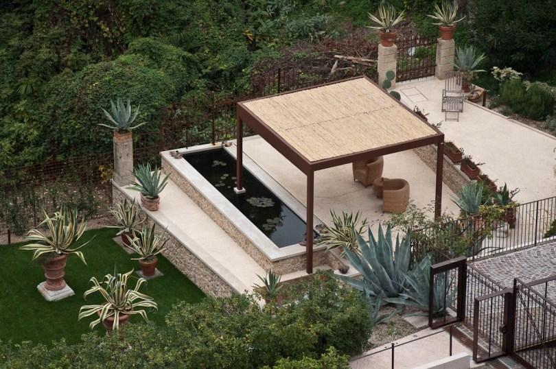 A hotel garden - Asolo, Veneto, Italy - www.rossiwrites.com