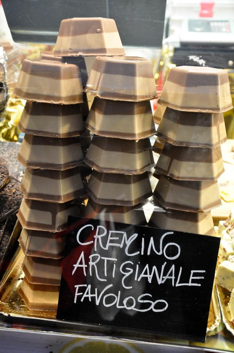 Artisan cremino, Chocolate Festival, Piazza dei Signori - Vicenza, Veneto, Italy - www.rossiwrites.com