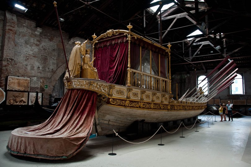 The Royal Barge - Ships Pavilion, Venice, Italy - www.rossiwrites.com
