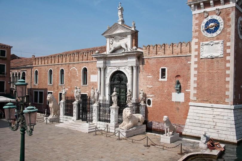 Porta Magna, Arsenale - Venice, Italy - rossiwrites.com
