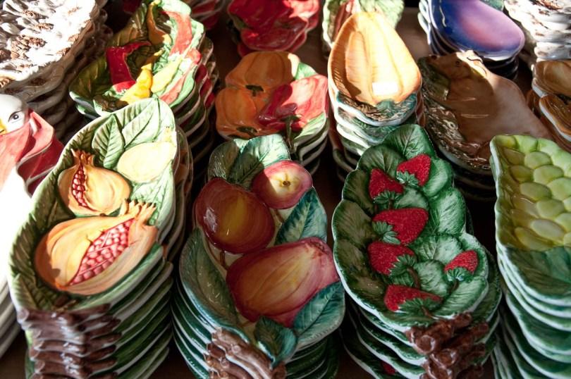 Ceramic plates - Nove, Veneto, Italy - www.rossiwrites.com