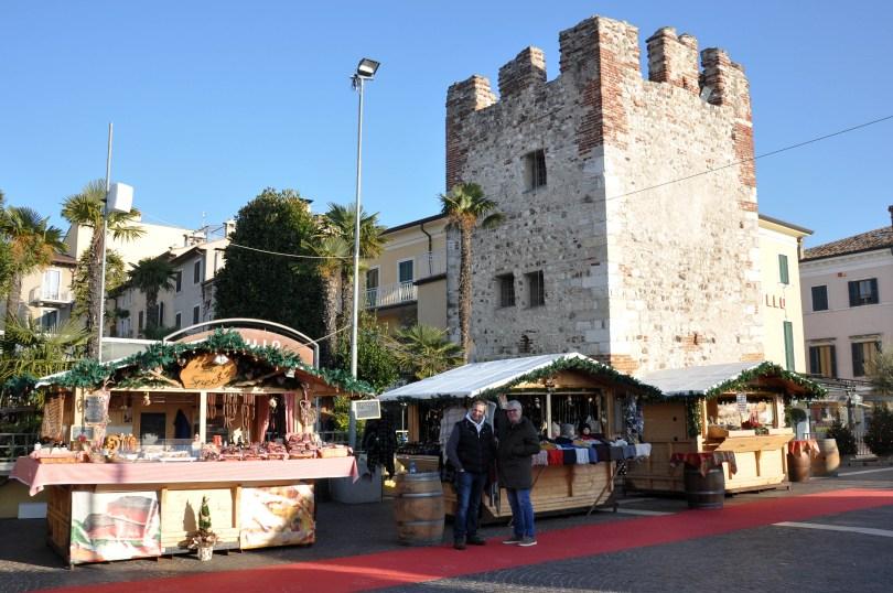Christmas market, Bardolino, Lake Garda, Italy