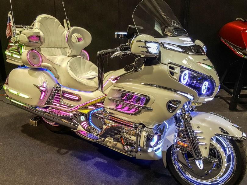 Honda Goldwings - Verona Motor Bike Expo 2017, Italy - www.rossiwrites.com