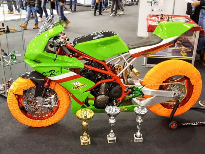 Prize bike - Verona Motor Bike Expo 2017, Italy - www.rossiwrites.com