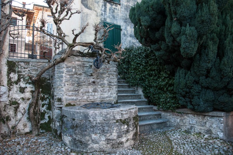 The backyard of Antonio Canova's birthhouse - Possagno, Treviso, Veneto, Italy - www.rossiwrites.com