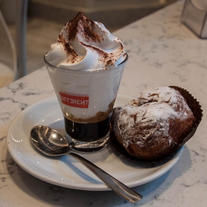 Frittella with coffee - Padua, Italy - www.rossiwrites.com