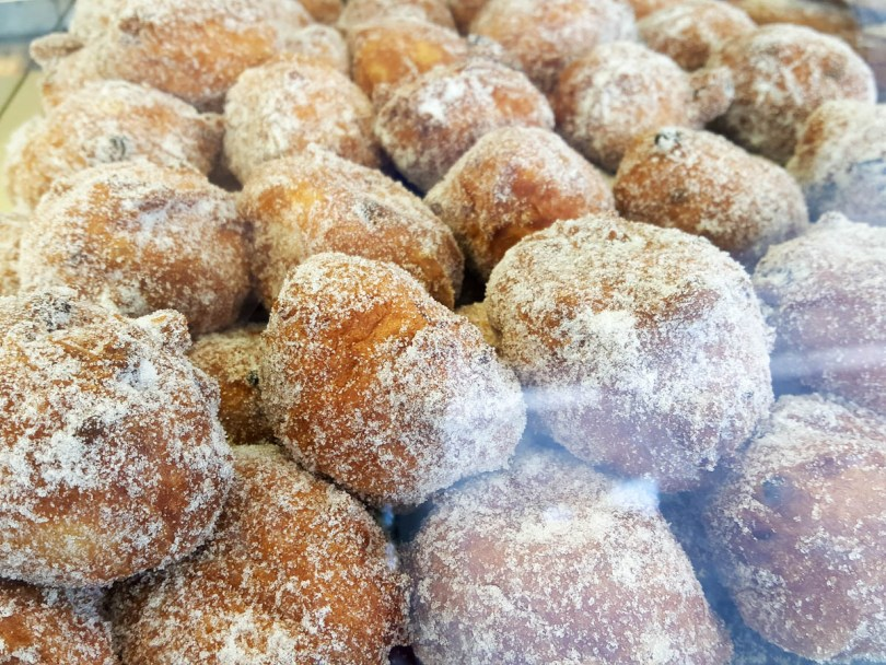 Frittelle with crema - Venice, Italy - www.rossiwrites.com