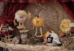 A handmade theatre with tule birdies by Milena Fanton - CreativeMamy - Abilmente Primavera 2017 - Vicenza, Italy - www.rossiwrites.com