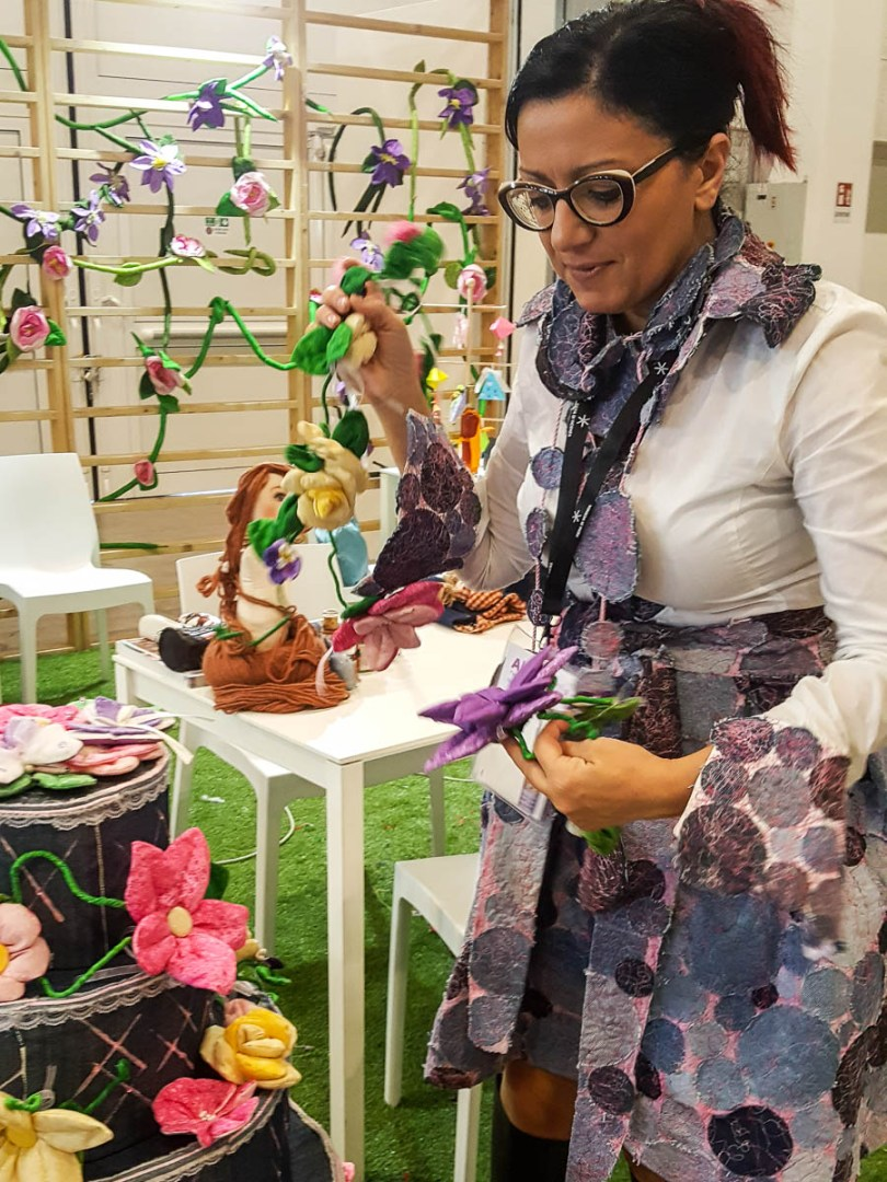 Maria Veneziano - the founder of Creative Mamy - Abilmente Primavera 2017 - Vicenza, Italy - www.rossiwrites.com