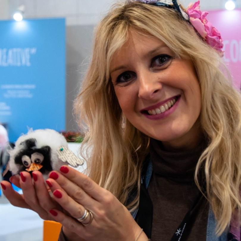 Milena Fanton from Gallerie delle Idee and CreativeMamy - Abilmente Primavera 2017 - Vicenza, Italy - www.rossiwrites.com