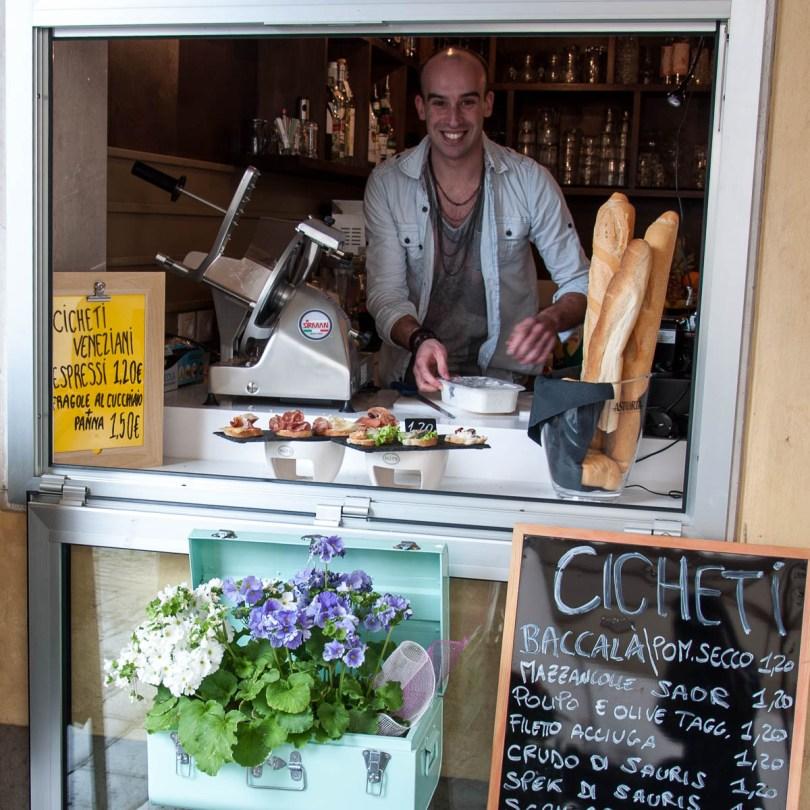 Miraflores bar with Fabio- Noale, Veneto, Italy - www.rossiwrites.com