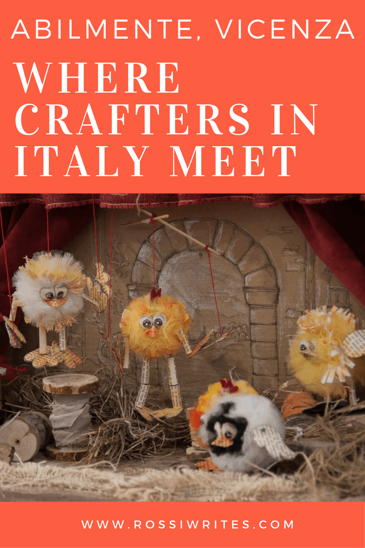 Pin Me - Abilmente, Festa della Creativita - Where Crafters in Italy Meet - www.rossiwrites.com
