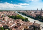 Verona from Above - The City of Romeo and Juliet Seen from Piazzale Castel San Pietro - Verona, Veneto, Italy - www.rossiwrites.com