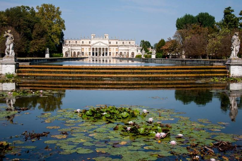 A view of Villa Pisani - Stra, Veneto, Italy - www.rossiwrites.com