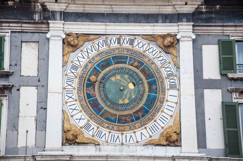 Astronomical clock - Piazza della Loggia - Brescia, Lombardy, Italy - www.rossiwrites.com
