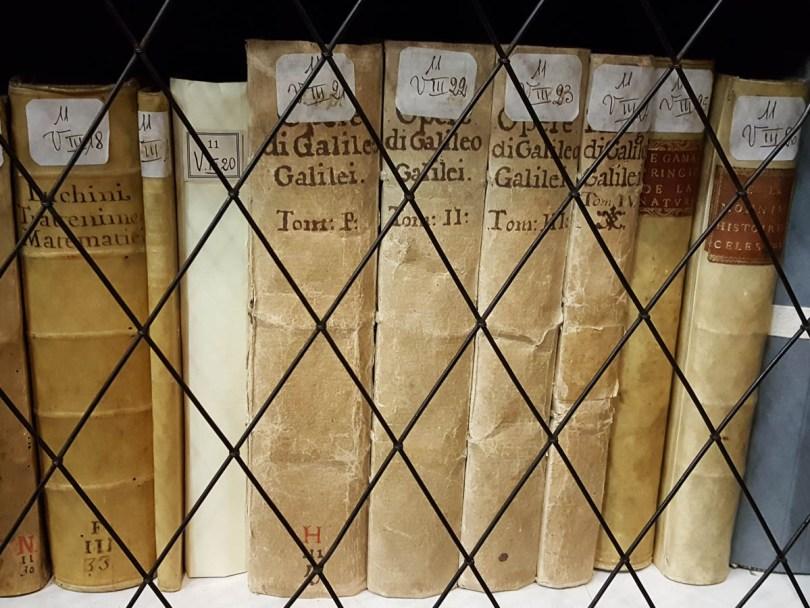 Galileo's Books - Stabat Mater Hall, University of Bologna - Bologna, Emilia-Romagna, Italy - rossiwrites.com