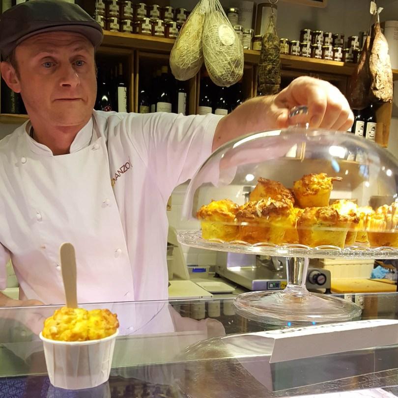Savoury muffins, Mercato di Mezzo - Bologna, Emilia-Romagna, Italy - www.rossiwrites.com