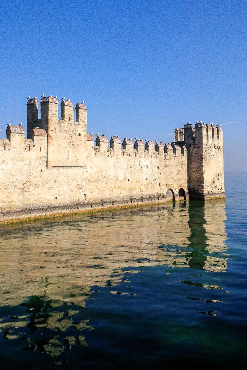 Scaliger Castle - Sirmione, Garda Lake, Italy - www.rossiwrites.com
