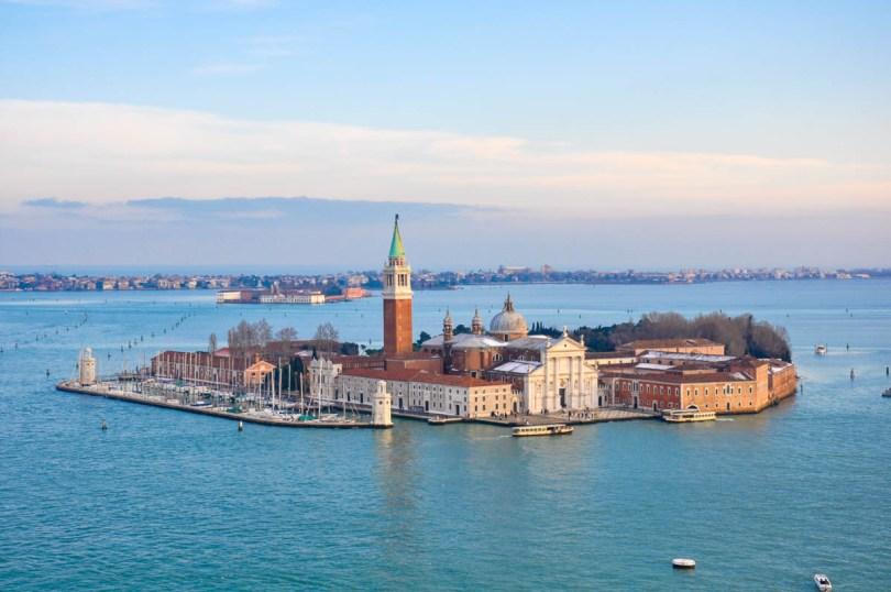 The island of San Giorgio Maggiore - Venice, Veneto, Italy - www.rossiwrites.com