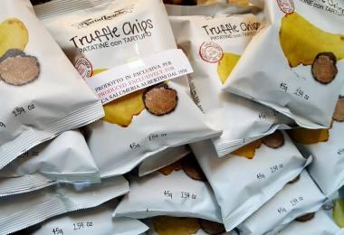 Truffle Crisps - Verona, Italy - www.rossiwrites.com