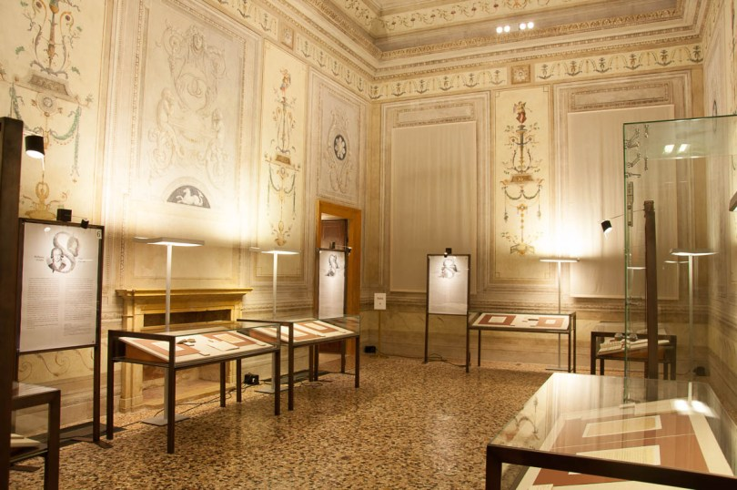 An exhibition in Palazzo Cordelina organised by the Biblioteca Bertoliana - Vicenza, Veneto, Italy - www.rossiwrites.com