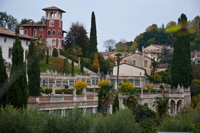 Gorgeous villas and landscaped gardens - Asolo, Veneto, Italy - rossiwrites.com