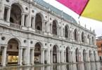 The Basilica Palladiana in the rain - Vicenza, Veneto, Italy - www.rossiwrites.com