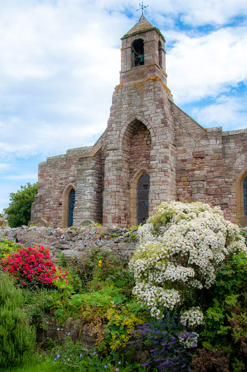 The historic church of Saint Mary the Virgin - Holy Island of Lindisfarne, Northumberland, England - www.rossiwrites.com