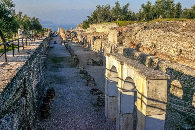 Catullo's Grotto Roman Villa - Sirmione, Lombardy, Italy - www.rossiwrites.com