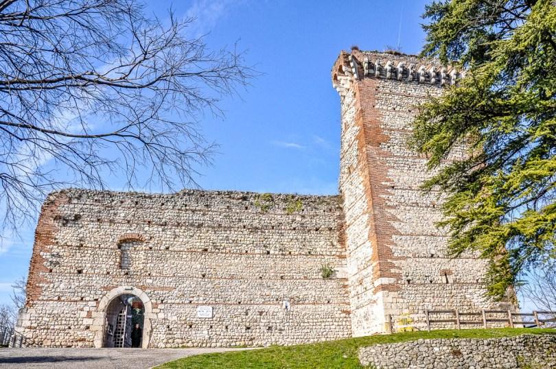 Romeo's Castle - Montecchio Maggiore, Veneto, Italy - www.rossiwrites.com