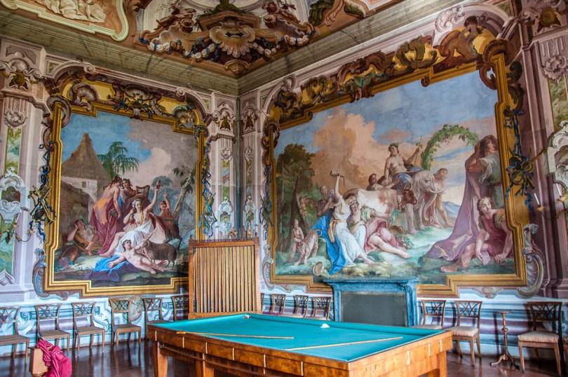 The Triumph of Bacchus - Villa Pisani, Stra, Veneto, Italy - www.rossiwrites.com