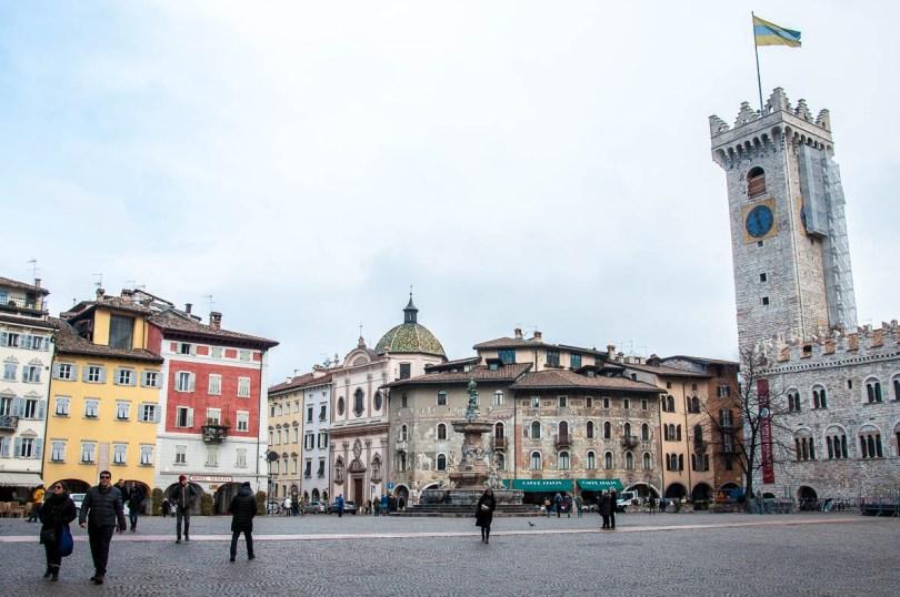 Piazza del Duomo, Trento, Trentino, Italy - www.rossiwrites.com