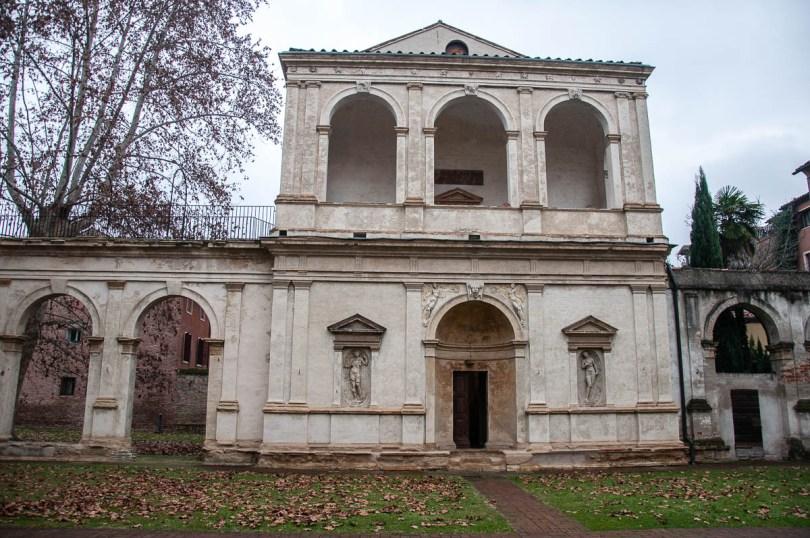 The Cornaro Odeon's facade - Loggia e Odeo Cornaro - Padua, Veneto, Italy - www.rossiwrites.com
