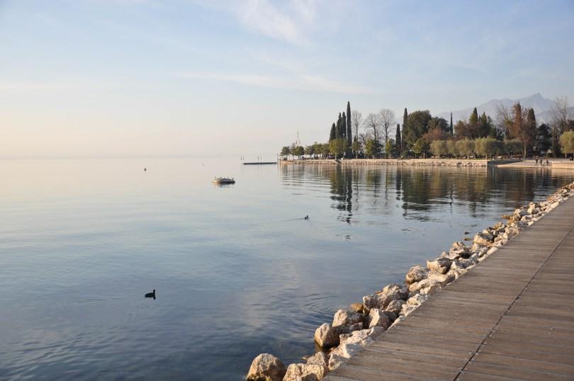 The promenade, Bardolino, Lake Garda, Italy - www.rossiwrites.com