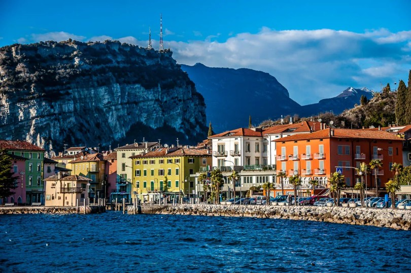 Torbole seen from the promenade - Lake Garda, Italy - www.rossiwrites.com