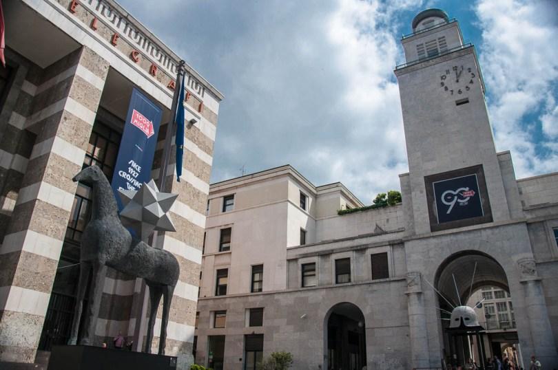A view of Piazza della Vittoria - Brescia, Lombardy, Italy - www.rossiwrites.com