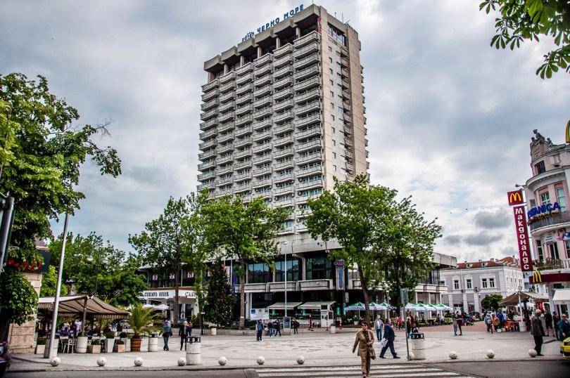 Black Sea Hotel - Hotel Cherno More - Varna, Bulgaria - www.rossiwrites.com